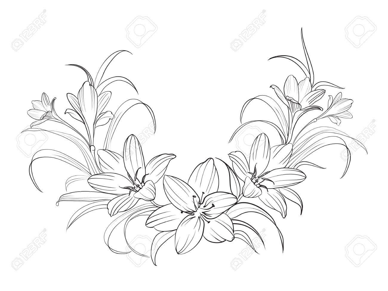 crocus blumen isoliert ber wei vektor illustration in 2019 tattoo blumen flower blumen. Black Bedroom Furniture Sets. Home Design Ideas