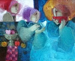 Sunol Alvar Watermelon painting