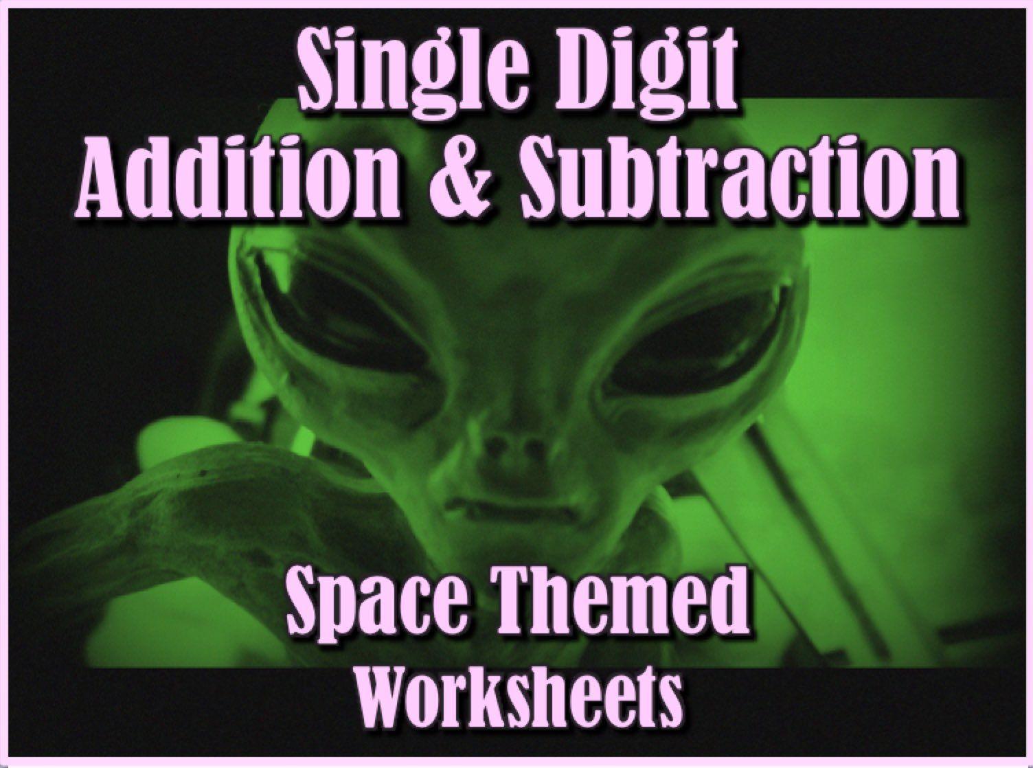 Single Digit Addition And Subtraction Worksheet Bundle