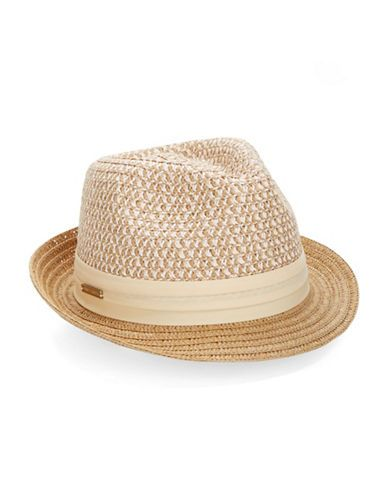 Straw Fedora | Lord and Taylor