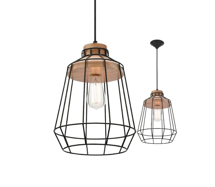 Petra pendant light black metal cage with oak timber mercator mg4531 petra pendant light black metal cage with oak timber mercator mg4531 12500 aloadofball Image collections