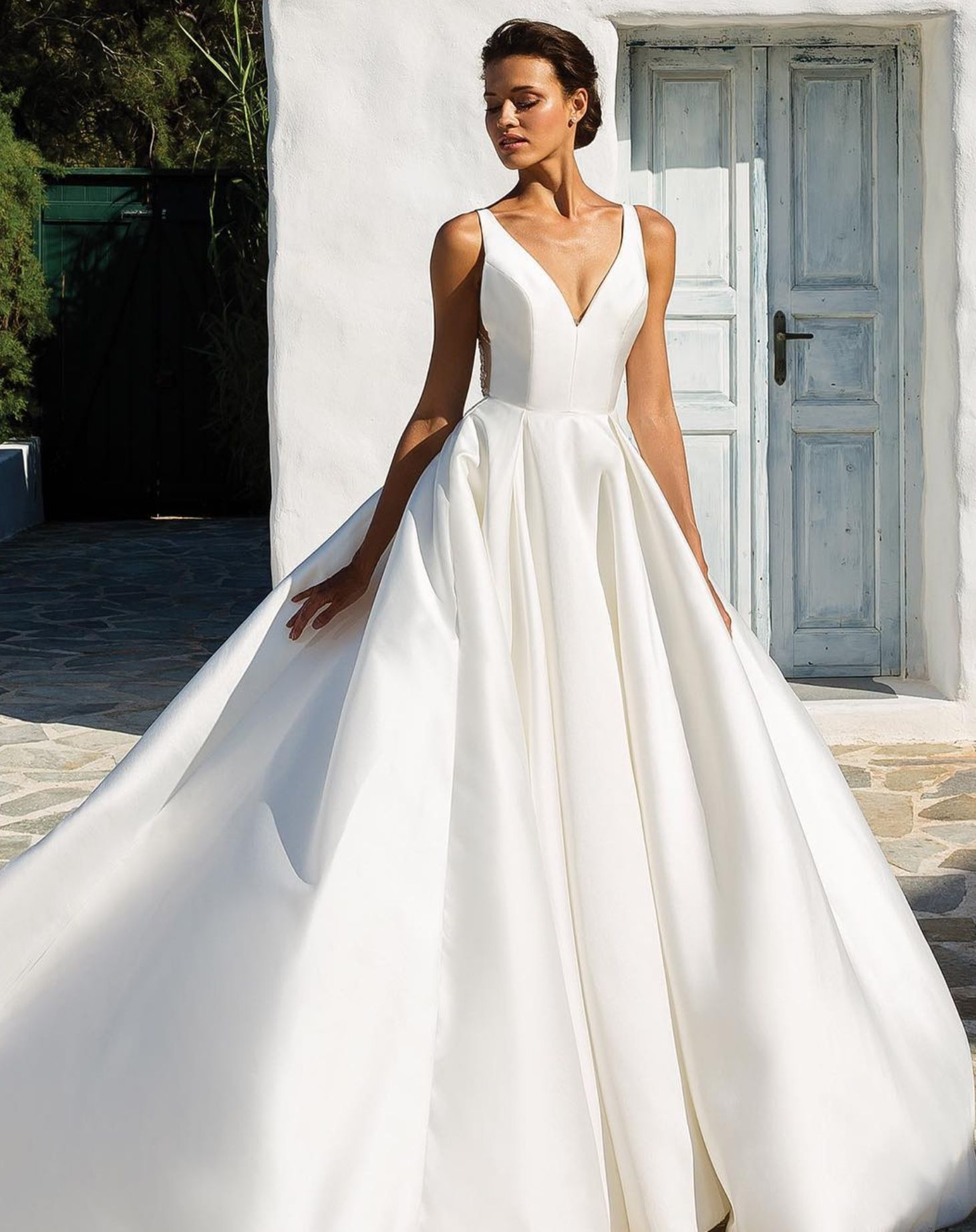 Pin by Brides by Liza on Satin wedding gowns (With images