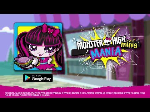 Monster High Minis Mania Juego Juegos Monster High Jugar Online