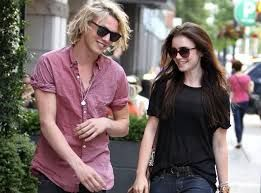 Jamie Campbell & Lily Collins