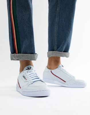 adidas Originals adidas Originals Continental 80's Sneakers In Blue Blue from ASOS USA | People