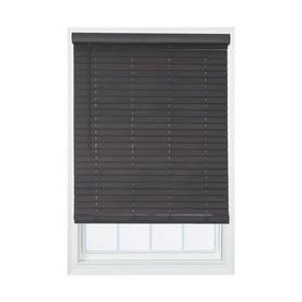 Allen Roth 2 In Cordless Walnut Room Darkening Faux Wood Blinds Common 29 In Actual 29 In X 72 In Dfwdd3072 29 Faux Wood Blinds Wood Blinds Blinds
