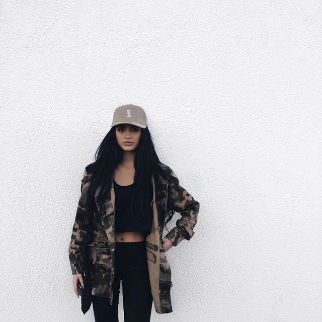 Benitathediva Camo Print And All Black Cute Comfy Outfits Bad College Party Outfit Tumblr