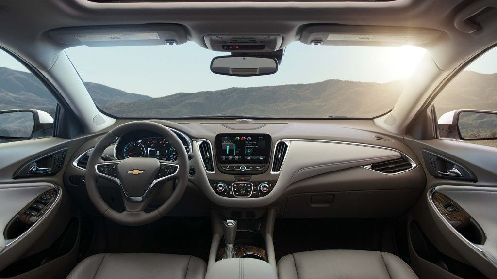 2016 Malibu Mid Size Car Interior Photos 1