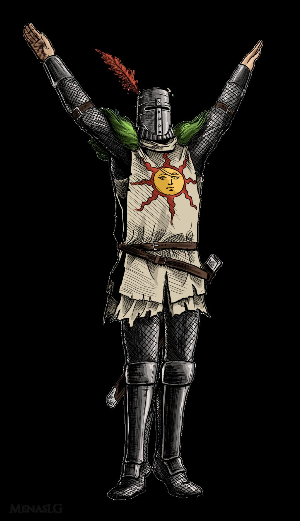 Dark Souls Character Design Process : Dark souls solaire by menaslg on deviantart fantasy