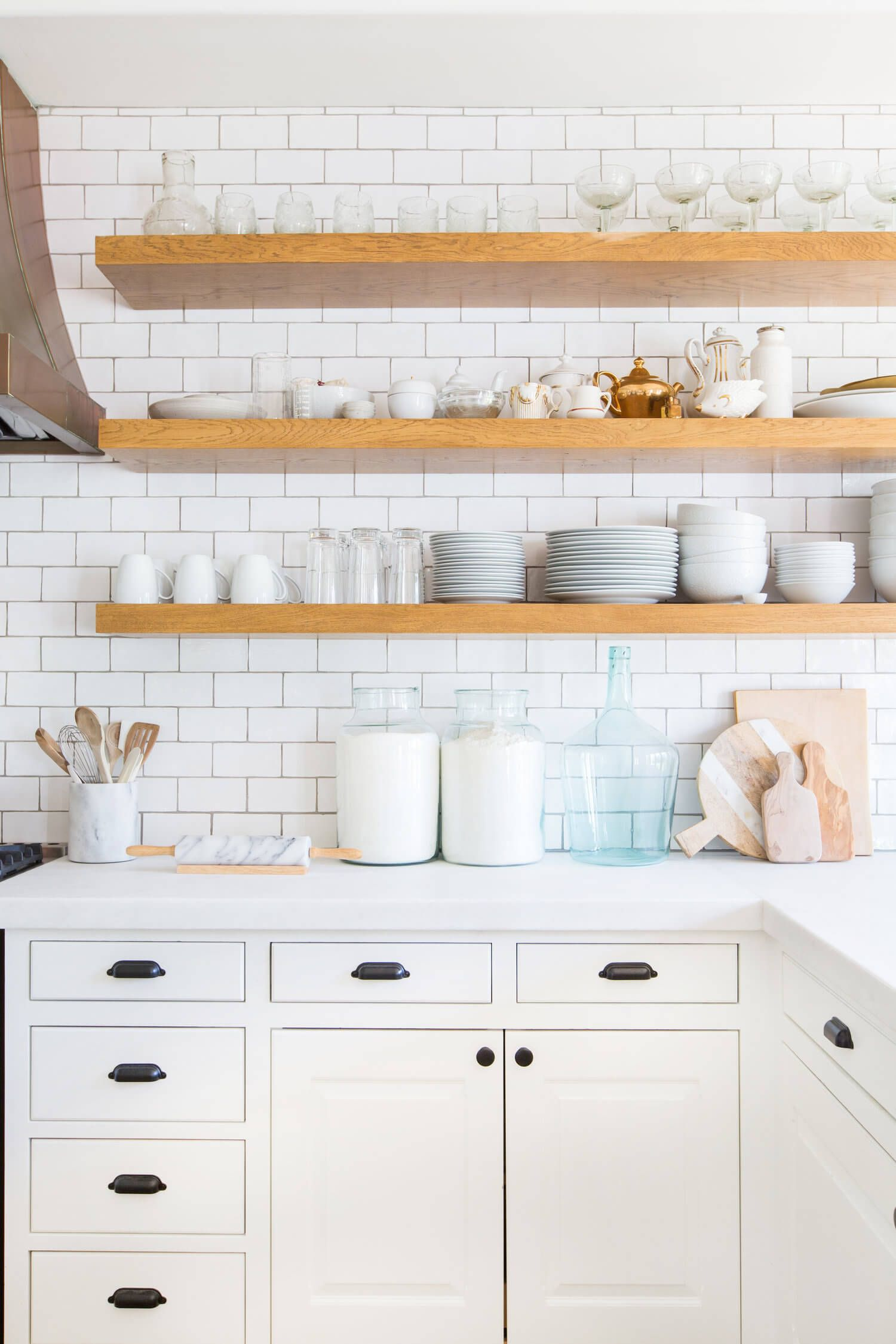 6 reasons to choose open kitchen shelves instead of on kitchen shelves instead of cabinets id=22002