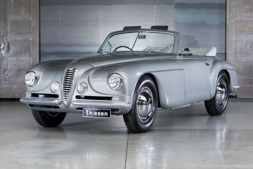 1949 Alfa Romeo 6C - 2500 SS Villa d`Este Cabriolet | Alfaaaaaaaaa ...