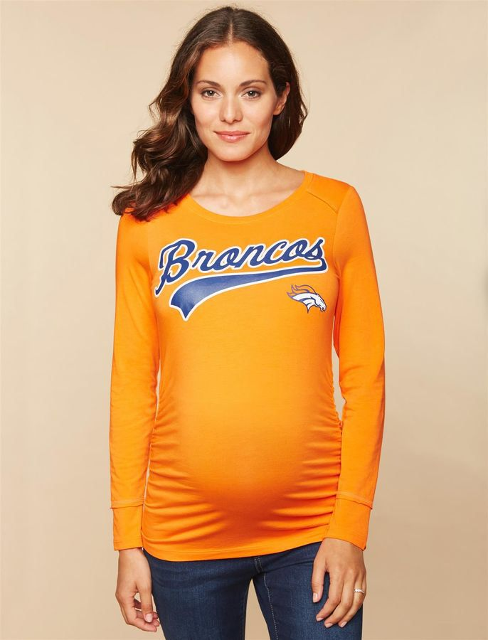 Motherhood Maternity Denver Broncos Nfl Long Sleeve Maternity Tee Shop Maternity Clothes Maternity Clothes Fashionable Maternity Activewear