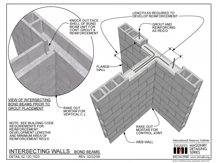 02 120 1523 In 2020 Concrete Block Walls Interlocking Concrete Blocks Beams