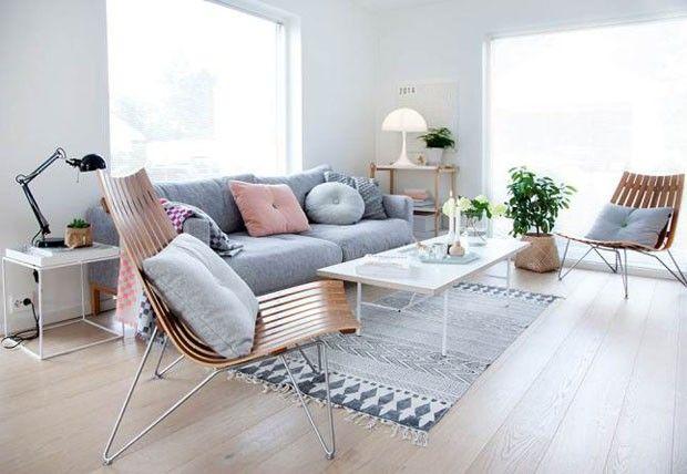 Innenausstattung Wohnzimmer ~ Décor do dia escandinavo e pastel wohnzimmer