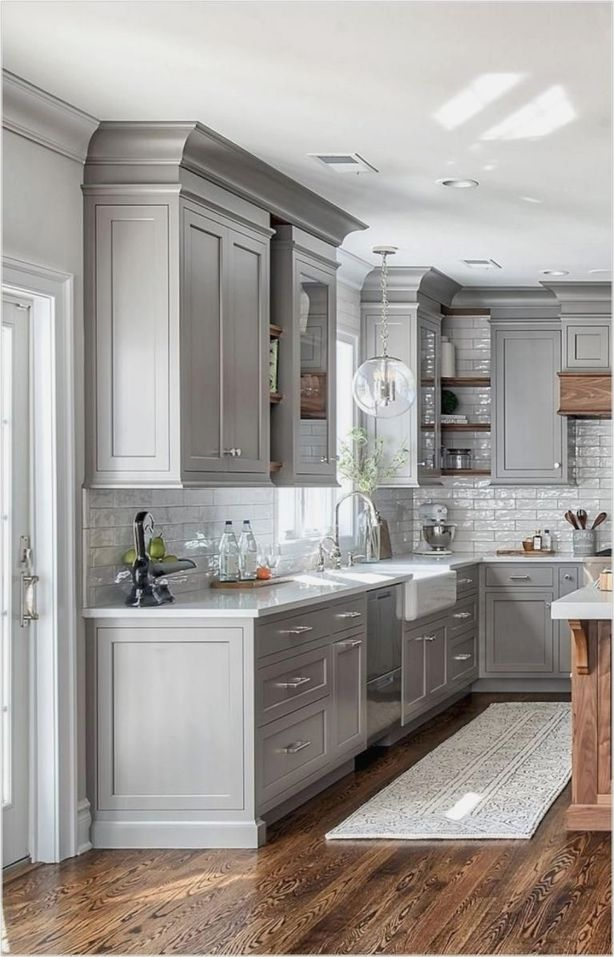40++ Modern farmhouse kitchen backsplash ideas