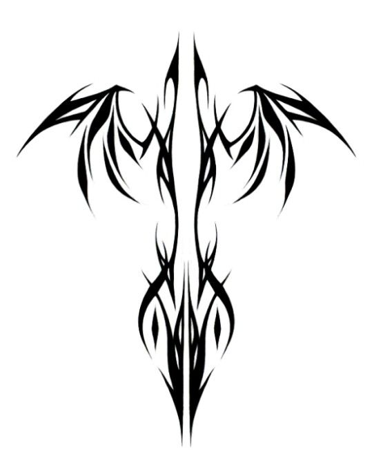 phoenix tribal tattoo pinterest tatouage phoenix. Black Bedroom Furniture Sets. Home Design Ideas