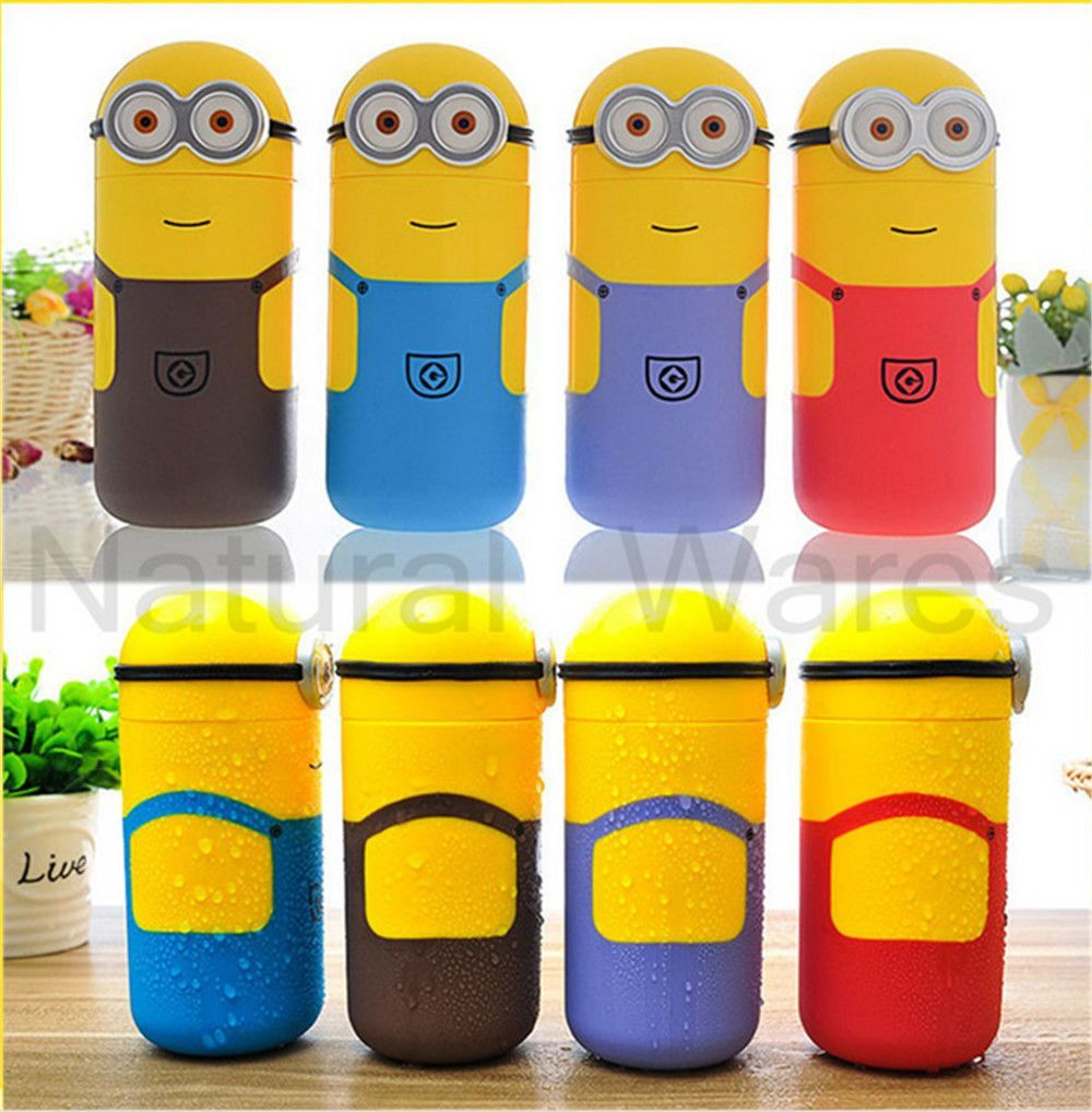 Water Funny Vacuum Cups Students Minions Bottles Office Travel rtxhQCds