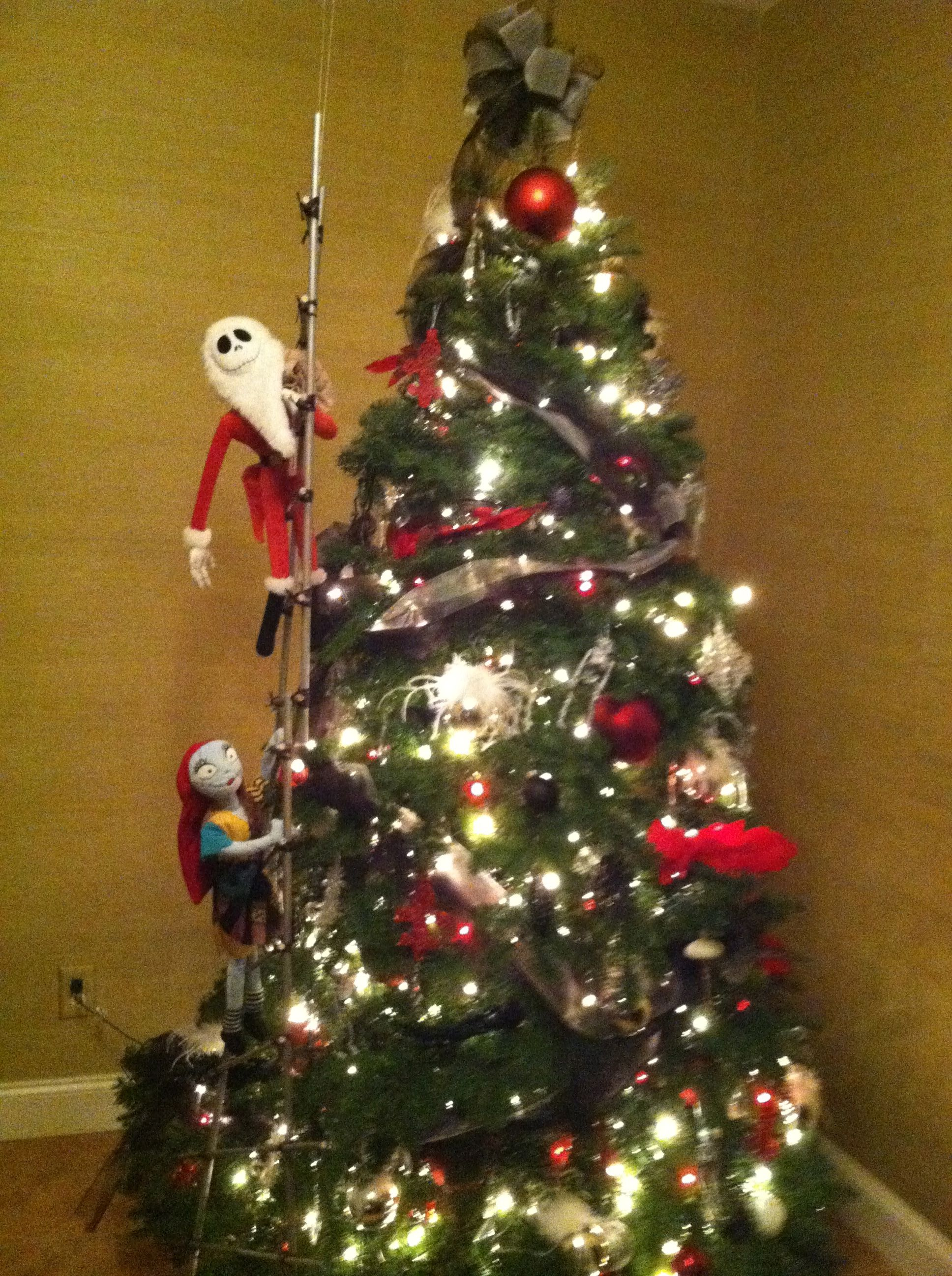 Nightmare Before Christmas Tree | nightmare before christmas party ...