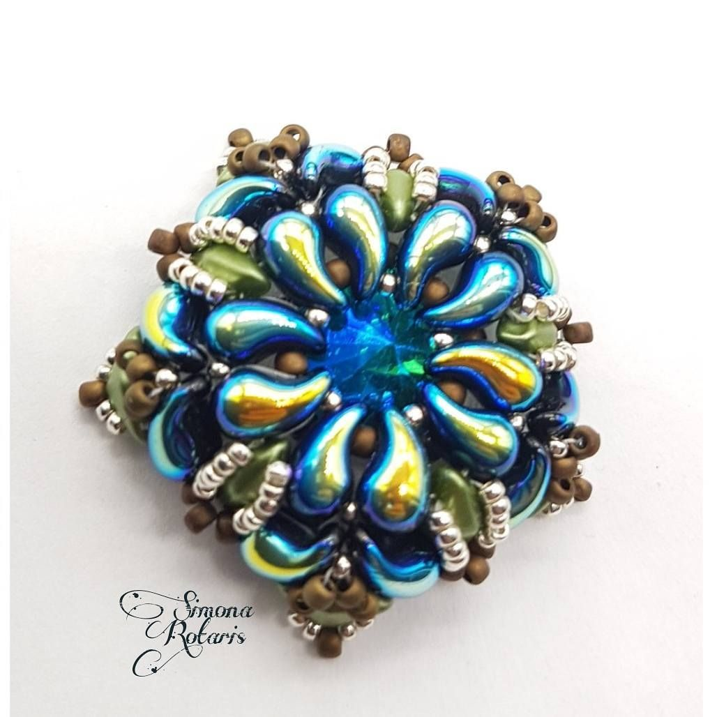Pin by Vector Beads on ZoliDuo Beads | Pinterest | Beads, Beadwork ...