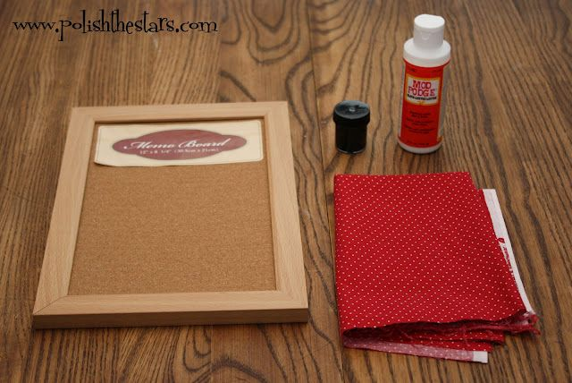 Polish The Stars Bulletin Board Jewelry Organizer DIY To Try