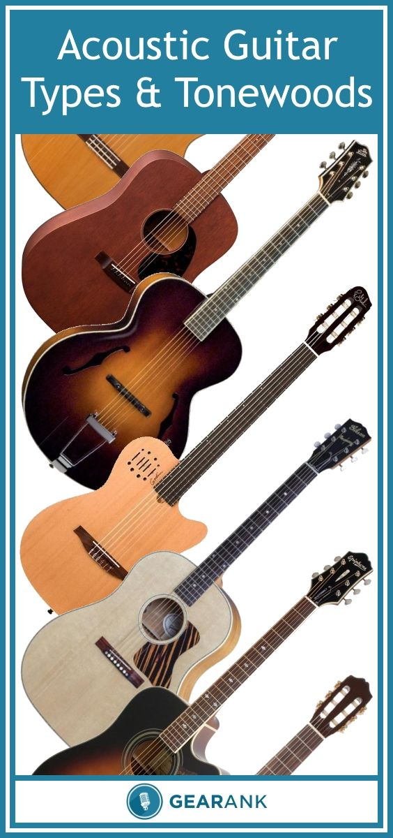 The Different Types Of Acoustic Guitars And Their Tonewoods Explained Guitar Acoustic Guitar Lessons Acoustic Guitar