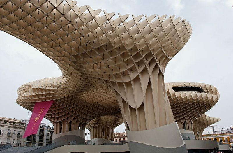 Metropol Parasol, Sevilla, by Jürgen Mayer (2011).