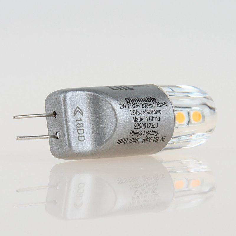 3000K Philips LED Leuchtmittel G4 2W 20W