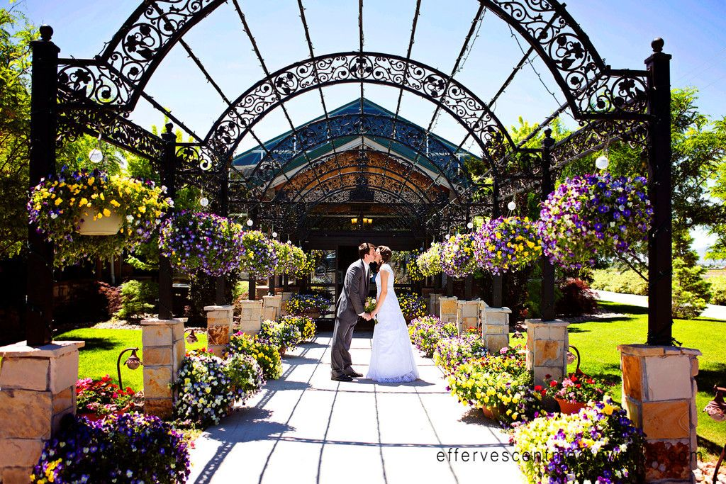 Highland Gardens Utah wedding photography, Garden wedding