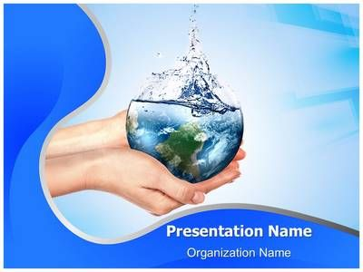 Save Water Powerpoint Presentation Template Is One Of The Best