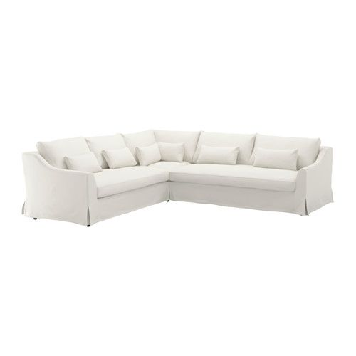 FÄRLÖV Sectional,5 Seat/sofa Right, Flodafors White Flodafors White