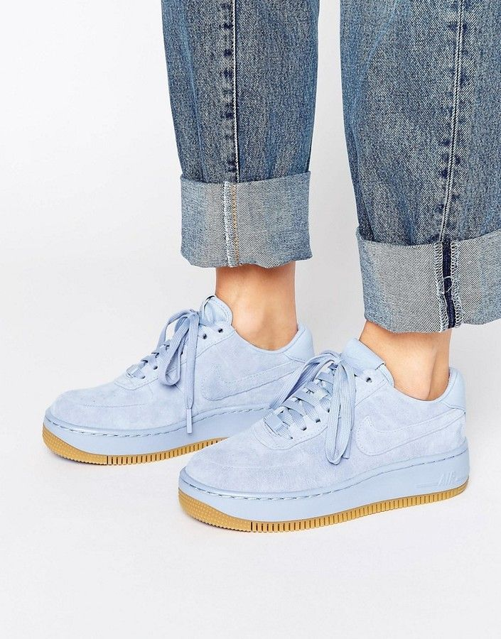 nike air force 1 donna blu