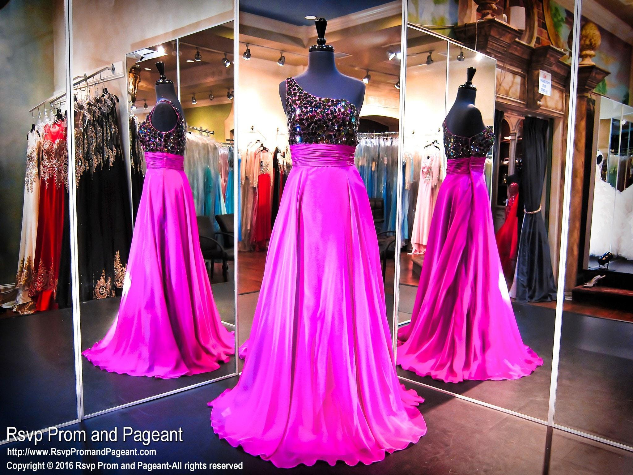 Violet One Shoulder Prom Dress (SALE) | Products | Pinterest