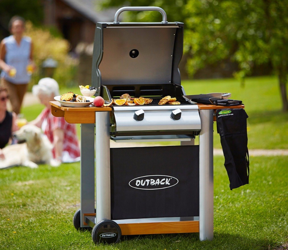 Outback Spectrum 2 Burner Bbq 2 Bbq Burner Outback Spectrum In 2020 Gas Bbq Cleaning Bbq Grill Charcoal Bbq