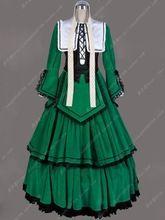 Cosplay Adaptado de vestir traje verde Anime Rozen Maidencosplay Disfraces  de Halloween para mujeres del vestido de traje de la bola victoriano  gótico(China ... f7df3809cb1b