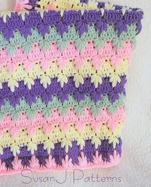 Crochet Pattern - Trailing Leaves Afghan. $4.00, via Etsy. | Crochet ...