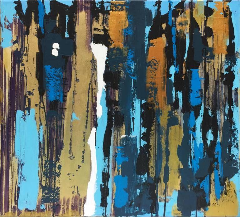 Magic bark Painting Painting, Original abstract painting