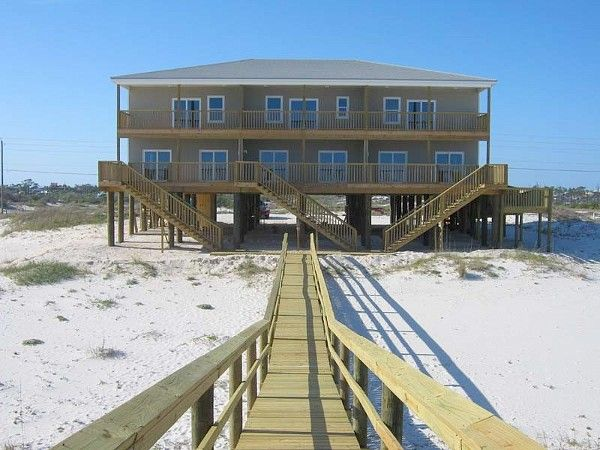 Newly Contructed Large Beach House In Homeaway Perdido Key