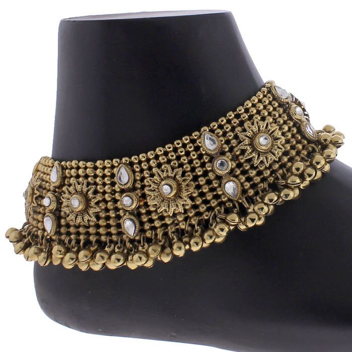 Bridal payal | Accessorize | Pinterest | Anklet, Muslim brides and ...