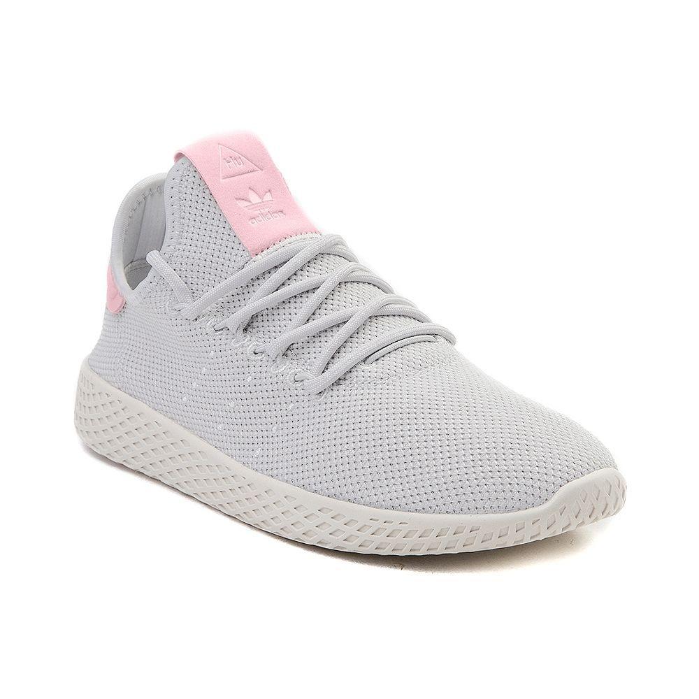 Womens Adidas Pharrell Williams Tennis Hu Athletic Shoe White White Pink 436586 Women Sathleticsh Adidas Shoes Women Autumn Shoes Women Women Shoes Online