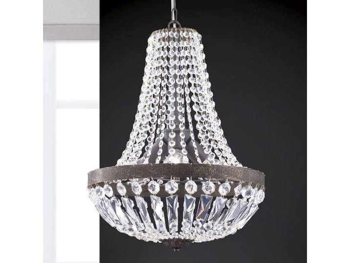 Hängeleuchte Andara, Kristallketten, Ø 40 cm Ceiling