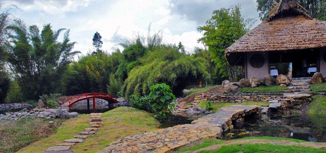 Conoce mi pais puentes de madera pinterest costa rica for Hotel jardin botanico