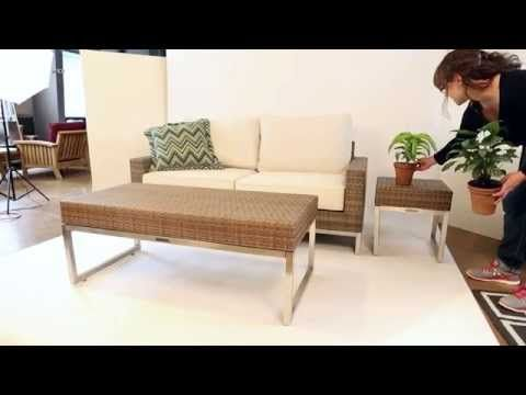 Palms Wicker Collection by Thos. Baker - YouTube