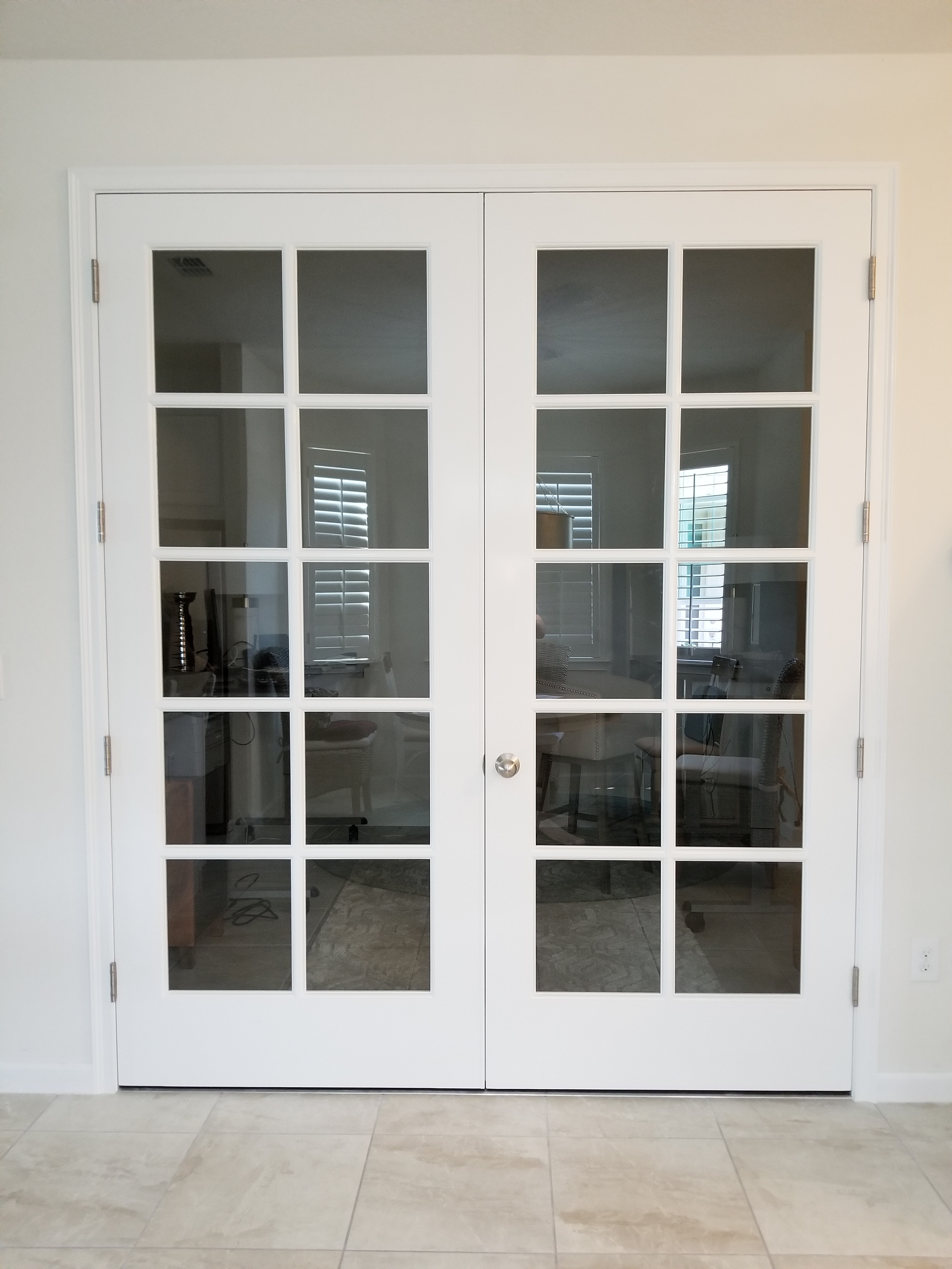 40 X 96 Interior Office Divided Lite French Doors Custom Wood Doors Interior Trim Wood Doors