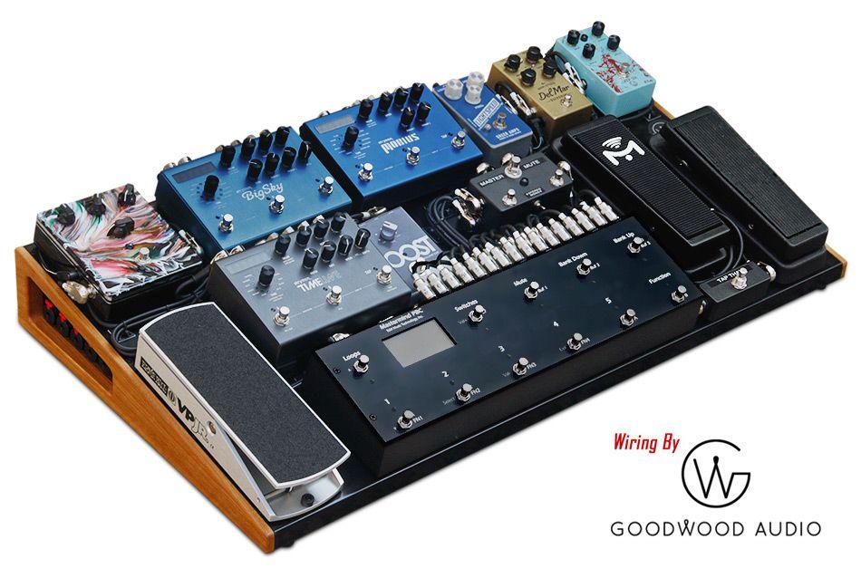 Gentleman by caseman pedalboard and goodwood audio