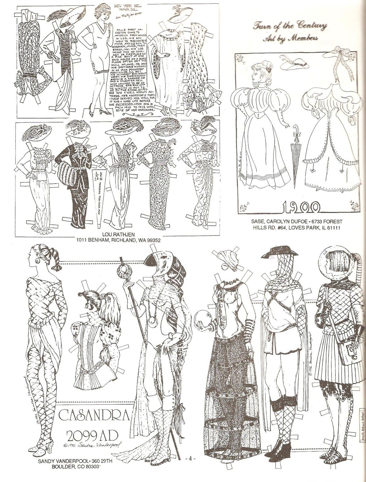 Pin on PAPER DOLLS REALLY ANTIQUE