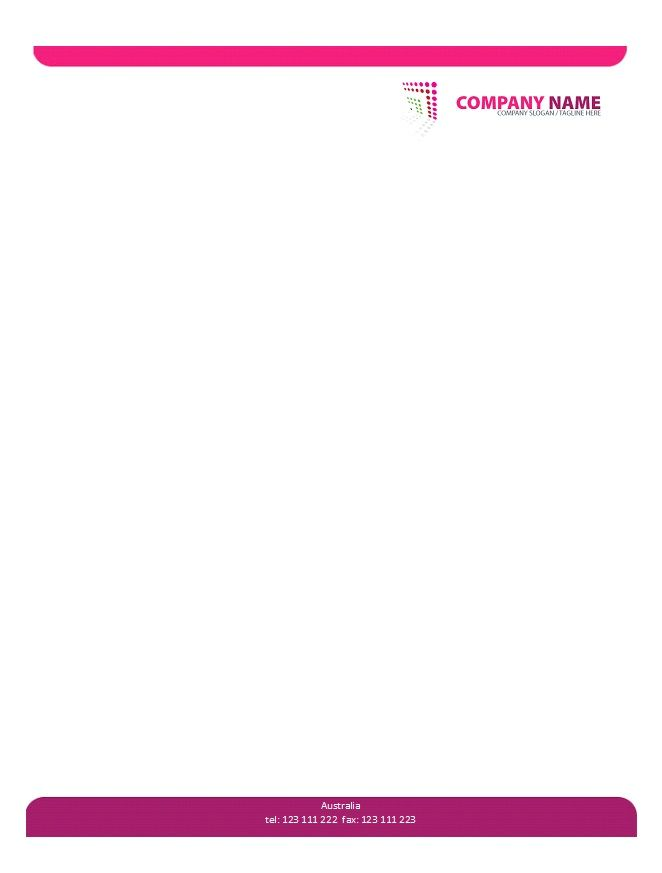 Letterhead Template 25 Shiv Pinterest Letterhead template - letterhead samples word