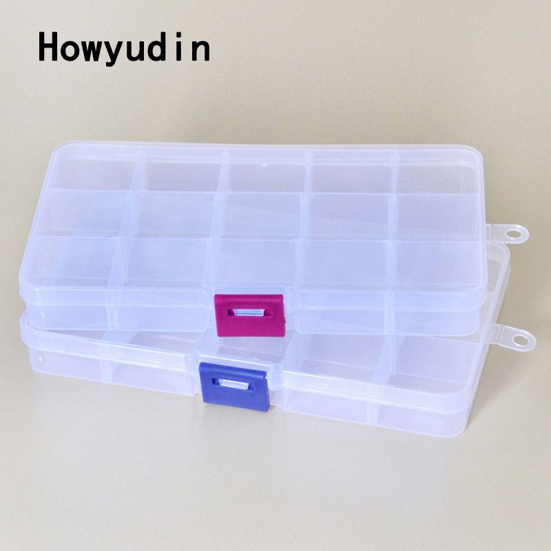 15 grid detachable fishing storage boxes Multi-purpose