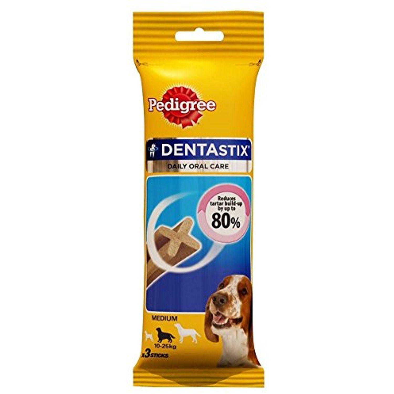 Pedigree Dentastix For Medium Dogs 3 Per Pack 77g You Can