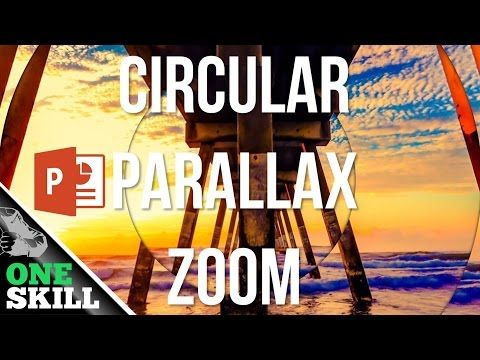 Circular Parallax Zoom Effect In Powerpoint Free Template Youtube Powerpoint Free Powerpoint Templates