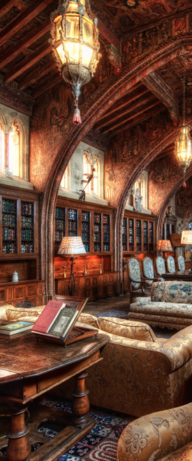 Private Library Study Rooms: William Randolph Hearst`S Private Library By Trey Ratcliff